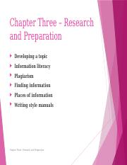 Chapter 3, Research & Preparation, New Book(1)
