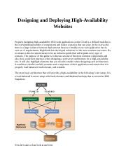 Designing and Deploying High.docx