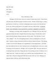 Kite runner essay