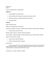 MUS 1471- Lesson 3 Typed Notes