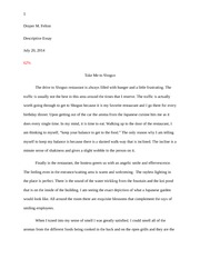 transgendered children essay draper felton  3 pages example of a descriptive essay