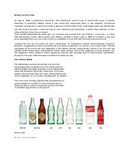 History of Coco Cola.docx
