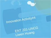 Innovation Activity#4