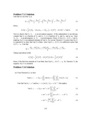Problem Solutions,2nd Edition (STAT) 279