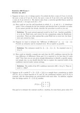 Stat 600 Midterm 2014 Solutions