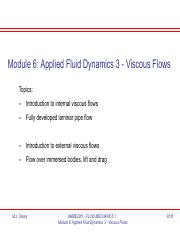 Module 6 Viscous Flows.pdf
