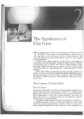 Film Art_The Significance of Film Form