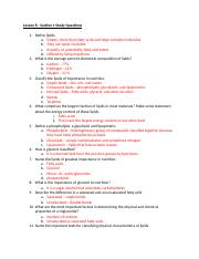 Lesson 8 - Section 1 Study Questions