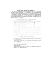 Math 200 Midterm I Topic Checklist