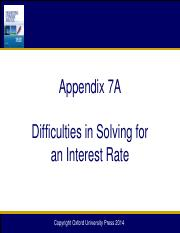Chapter 07A Difficulties in Solving for IRR_12e