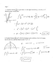 Exam 2A Solution Spring 2005 on Calculus and Analytic Geometry IV