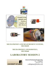 MECHATRONICS Lab session 2, Instructions, 12-13