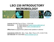 01 Introduction and the History of Microbiology