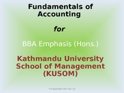 Accounting  Governance -1