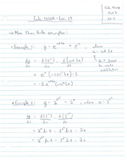 MATH19 Lecture Notes (2013) - #19