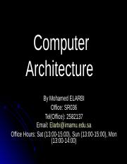 0-introductiontocomputerarchitecture-120204210152-phpapp01