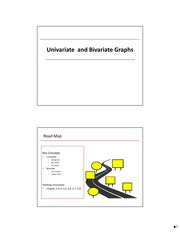 Chapter 3.2 Univariate and Bivariate Graphs and Charts