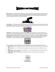 Industrialization_Inventors and Inventions