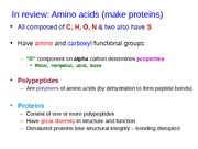 lecture 6p, 9-17-15 DNA, RNA