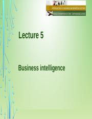 Lecture 5 Business Intelligence.pptx