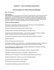 Job Description for Human Resource Manager1.docx