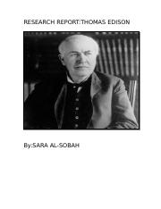RESEARCH REPORT thomas edison.docx