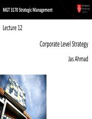 MGT3170 Lecture12-Corp Strat-print.pdf