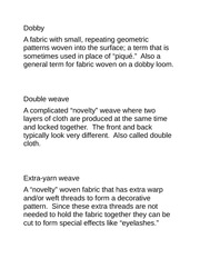 F328_StudyGuide_Knits_Weaves