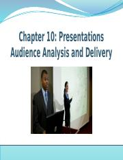 Ch 10 Presentations_ Audience Analysis and Delivery