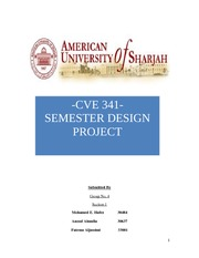 Project report water final final