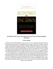 277623230-Download-Economics-in-One-Lesson-The-Shortest