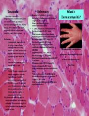 Anatomy and Physiology Bio101 Disease Brochure.docx