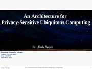 T3-PrivacySensitiveUbiquitousComputing