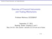 ECO358 LEC02Financial Instruments