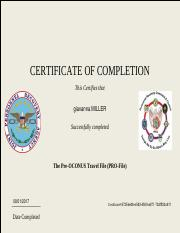 isoprep pro file 1. ISOPREP.pdf - CERTIFICATE OF COMPLETION This Certifies that ...