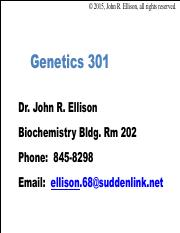 Genetics powerpoints pdf