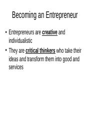 Becoming an Entrepreneur.ppt