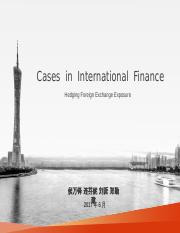 Cases in International Finance(1).ppt