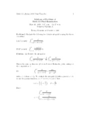 solution_final_exam_may20_2009