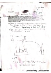 Worksheet Exercise 4