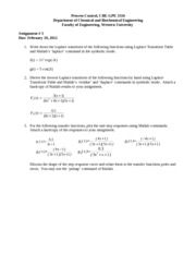 cbe 3310 assignment 3 with solutions