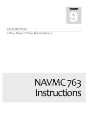 Completing NAVMC 763 Instructions