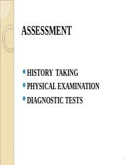 2 ASSESSMENT OF RENAL SYSTEM