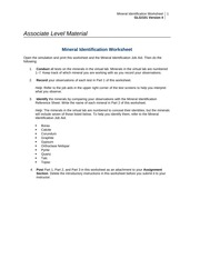 Worksheets Roles Of The President Worksheet week 5 assignment the roles of president and evolution 6 pages 1 2 mineral identification worksheet