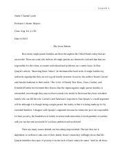 why don t we complain vs the ways we lie riyad mohammed riyad  5 pages english essay 2 final draft
