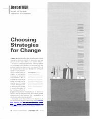 Change Management article