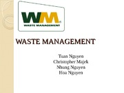 WASTE MANAGEMENT-PPT
