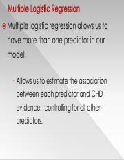 11. Multiple Logistic Regression (1)
