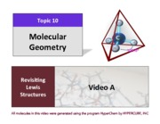 CHEM 102 Lecture Presentation Chapter 10 - Molecular and Electron Geometry
