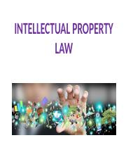 Lecture 10 - Intellectual Property Law.pptx